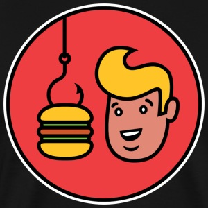 Burger hook T-Shirts - Men's Premium T-Shirt