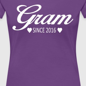 Gram Since 2016 - Women's Premium T-Shirt