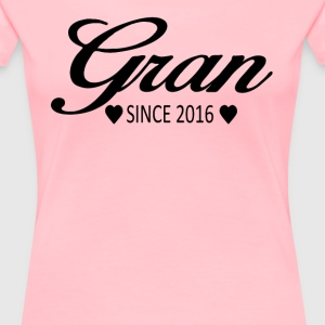 Gran Since 2016 - Women's Premium T-Shirt