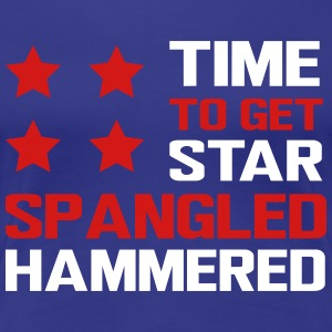 Time to get star spangled hammered T-Shirts - Women's Premium T-Shirt