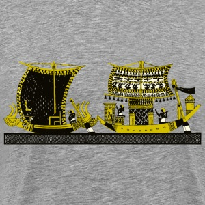 Egyptian boats - Men's Premium T-Shirt