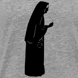 Nun silhouette - Men's Premium T-Shirt