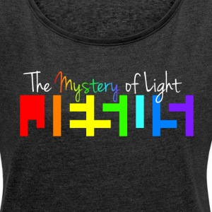 The Luminous Mystery - Women´s Rolled Sleeve Boxy T-Shirt