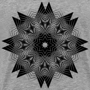 High Contrast Star - Men's Premium T-Shirt