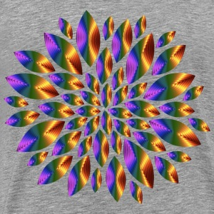 Chromatic Flower Petals 10 - Men's Premium T-Shirt
