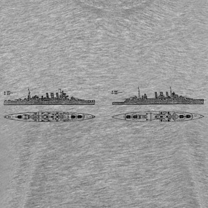 County Battleship - Men's Premium T-Shirt