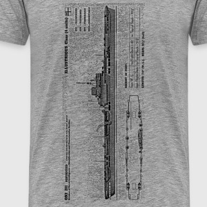 Illustrious Battleship - Men's Premium T-Shirt