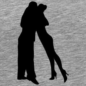 Dancing couple 23 - Men's Premium T-Shirt