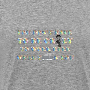 Technicolor Crazy Train Enhanced No Background - Men's Premium T-Shirt