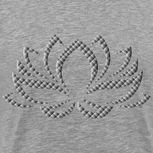 Prismatic Lotus Flower 6 - Men's Premium T-Shirt