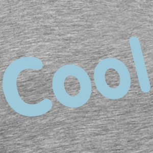 Cool Typography - Men's Premium T-Shirt