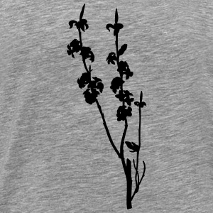 February daphne (silhouette) - Men's Premium T-Shirt