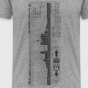 KGV Battleship - Men's Premium T-Shirt