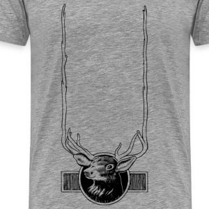 Elk Head Frame - Men's Premium T-Shirt