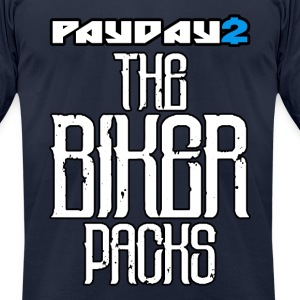 PAYDAY 2 The Biker Packs - Men's T-Shirt by American Apparel