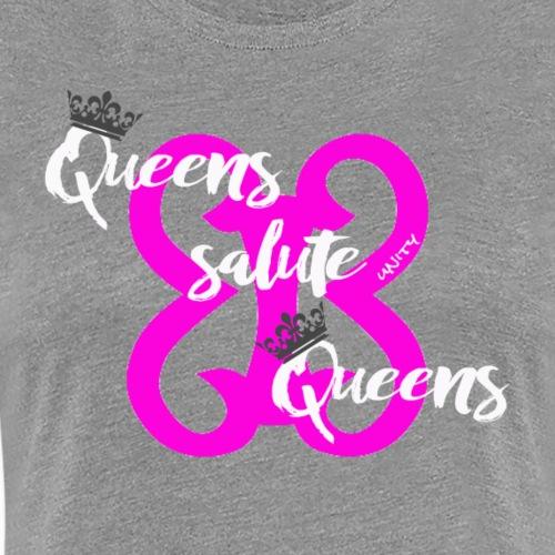 queens salute queens pink