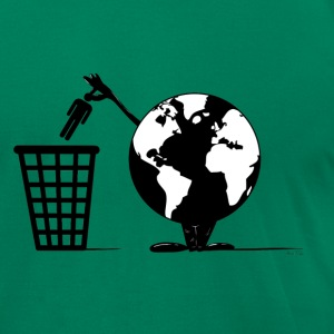 Waste Disposal T-Shirts - Men's T-Shirt by American Apparel