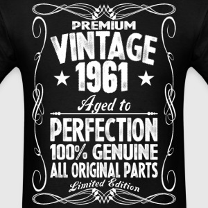 Premium Vintage 1960 Aged To Perfection 100% Genui T-Shirts - Men's T-Shirt
