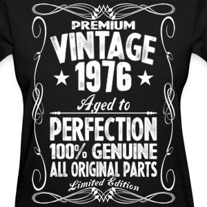 Premium Vintage 1976 Aged To Perfection 100% Genui T-Shirts - Women's T-Shirt