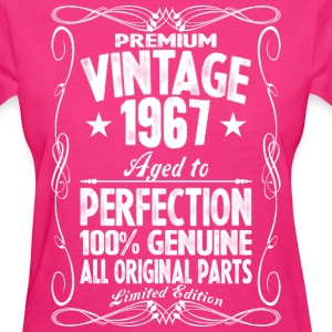 Premium Vintage 1967 Aged To Perfection 100% Genui T-Shirts - Women's T-Shirt
