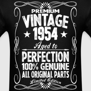 Premium Vintage 1954 Aged To Perfection 100% Genui T-Shirts - Men's T-Shirt