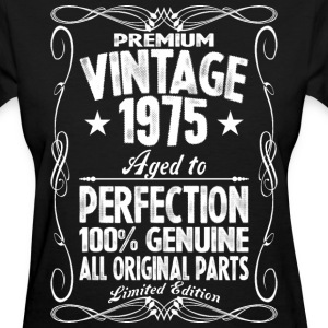 Premium Vintage 1975 Aged To Perfection 100% Genui T-Shirts - Women's T-Shirt