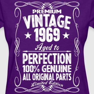 Premium Vintage 1969 Aged To Perfection 100% Genui T-Shirts - Women's T-Shirt