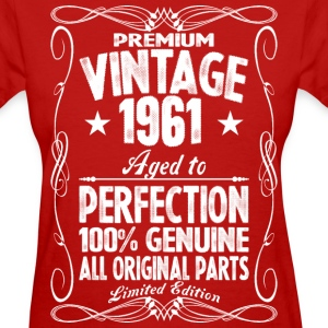 Premium Vintage 1960 Aged To Perfection 100% Genui T-Shirts - Women's T-Shirt
