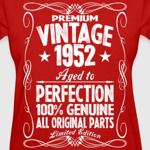 Premium Vintage 1952 Aged To Perfection 100% Genui T-Shirts - Women's T-Shirt
