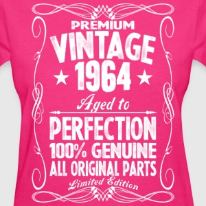 Premium Vintage 1964 Aged To Perfection 100% Genui T-Shirts - Women's T-Shirt