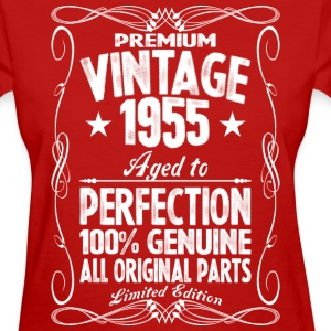Premium Vintage 1955 Aged To Perfection 100% Genui T-Shirts - Women's T-Shirt