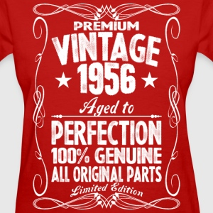 Premium Vintage 1956 Aged To Perfection 100% Genui T-Shirts - Women's T-Shirt