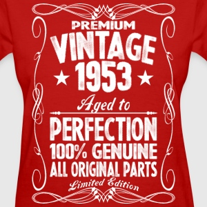 Premium Vintage 1953 Aged To Perfection 100% Genui T-Shirts - Women's T-Shirt