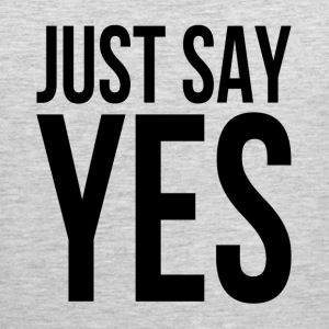 JUST SAY YES Sportswear - Men's Premium Tank