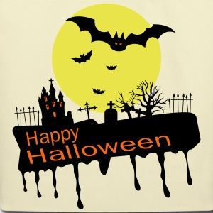 Happy Halloween Bags & backpacks - Eco-Friendly Cotton Tote