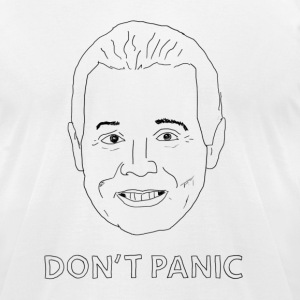 Don't Panic Meteorologist T-Shirts - Men's T-Shirt by American Apparel