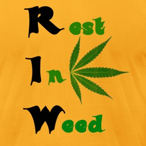 Rest in peace T-Shirts - Men's T-Shirt by American Apparel
