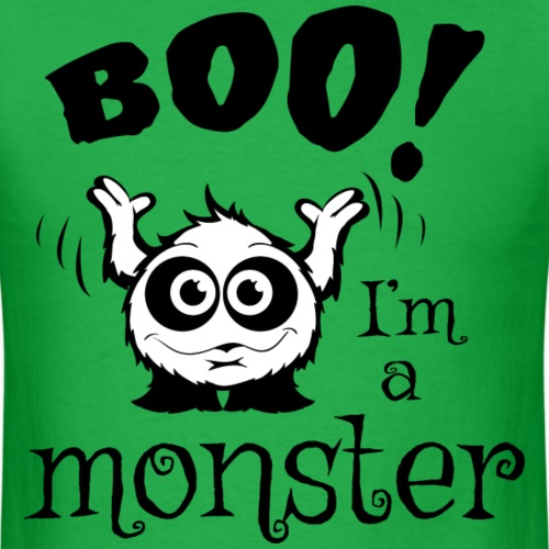 boo_im_a_monster_black_and_white