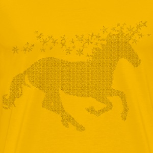 Magical Unicorn Typography - Men's Premium T-Shirt