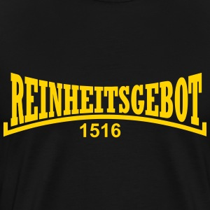 The Reinheitsgebot 1516 - Men's Premium T-Shirt
