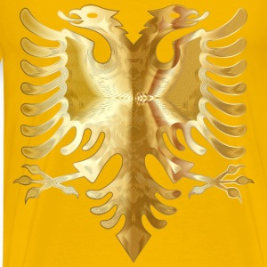 Golden Double Headed Eagle 2 - Men's Premium T-Shirt