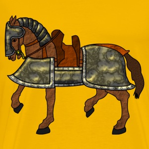Armored Horse - Men's Premium T-Shirt