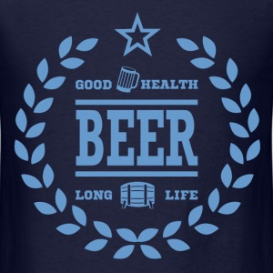 BEER FOR HEALTH14.png T-Shirts - Men's T-Shirt