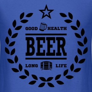 BEER FOR HEALTH11.png T-Shirts - Men's T-Shirt
