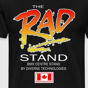 The RAD Stand - Old School BMX Centre Stand - Men's Premium T-Shirt