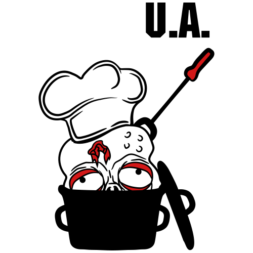 zombie food cook cooking chef, master grill head p