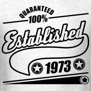 established  1973a.png T-Shirts - Men's T-Shirt