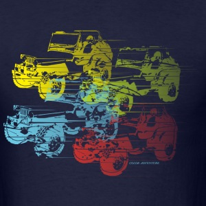 COLOR  ADVENTURE  DESIGN - Men's T-Shirt