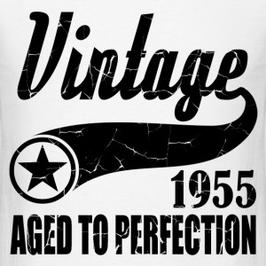 VINTAGE 1955 AGED TO PERFECTION,VINTAGE 1955, AGED - Men's T-Shirt