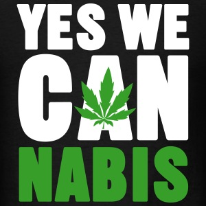 YES WE CAN NABIS T-Shirts - Men's T-Shirt